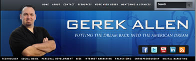gerrek allen internet marketing social media